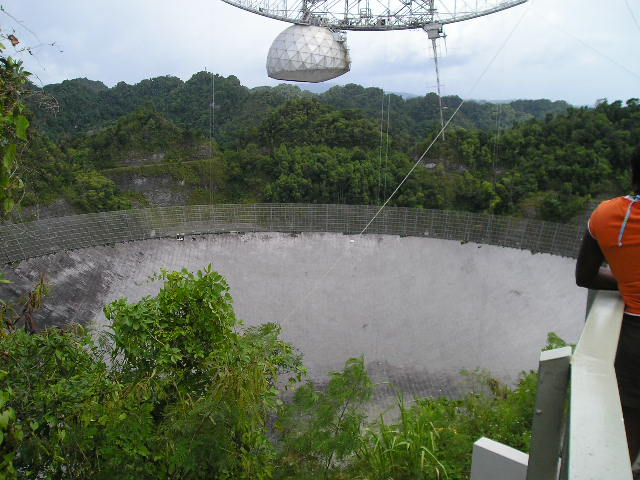 Picture 3 Of The Worlds Largest Satellite Dish At Arecibo Puerto Rico
